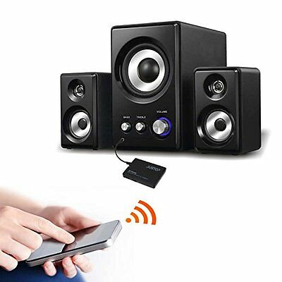 Wireless Car Speakers >> Justop Bluetooth Wireless Audio Receiver Stereo For Home Car Speakers Headphones Ebay
