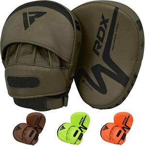 RDX-Boxing-Pads-MMA-Muay-Thai-Focus-Mitts-Kickboxing-Hook-amp-Jab-Target-Training