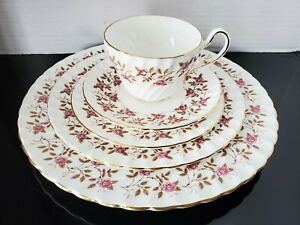 Foley-England-1850-Enchantment-45-PC-Dinnerware-Set-RARE