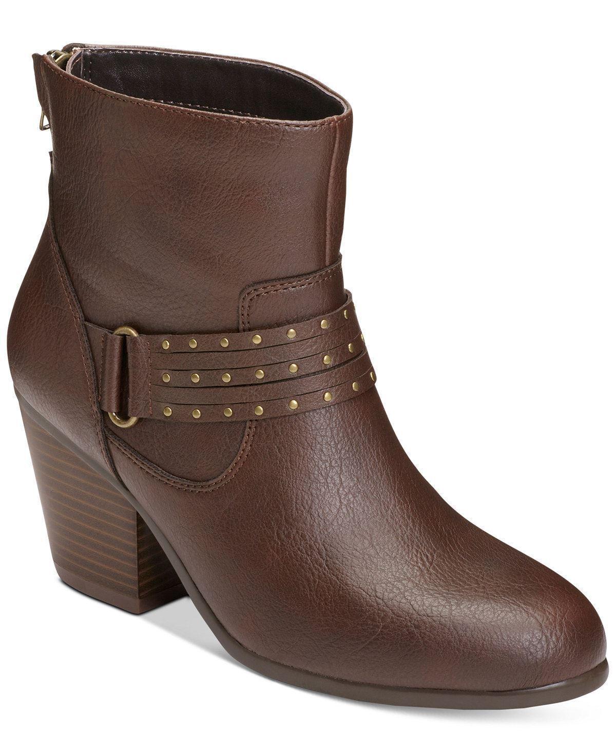 Aerosoles Longevity Brown Mid Shaft Boots Brown Size 5M