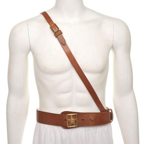 Soviet Officers Belt with Buckle /& Shoulder strap