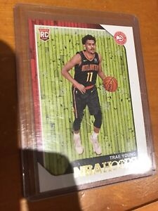 2018-2019-NBA-Hoops-Trae-Young-RC-Rookie-250-Winter-Variation-Atlanta-Hawks