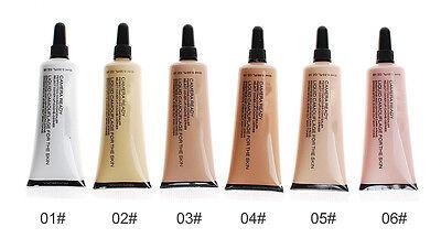 1Pcs Perfect Cover Face Concealer Cream Pro Contour Makeup Liquid Concealer 10ML