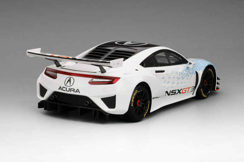 Acura Nsx Gt3 New New New York Auto Show 2016 Top Speed 1 18 Model TRUE SCALE MINIATURES c292e1