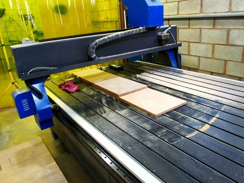 R-2030LC/65 EasyRoute 380V Lite 2050x3050mm Aluminium T-Slot Clamping CNC Router, 6.5kW