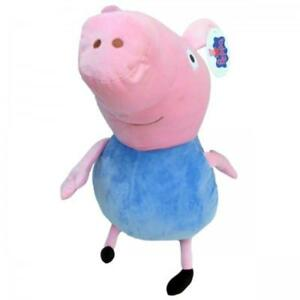 XXL-Peppa-Pig-Peppa-Wutz-George-Blau-ca-50-cm-Plueschtier-Stofftier-Pluesch-Figur