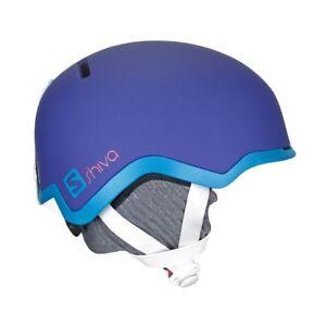 casco sci donna  Salomon Shiva - Casco sci Donna L39123300 S (55-56 Cm) Purple ...