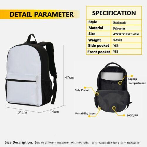 The Joker Kids Backpack Student Schoolbag Pen Bag Lunch Bag 4PCS Gift For Fans