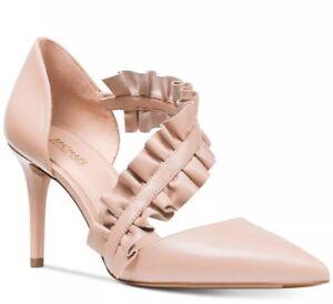 New MICHAEL Kors Bella Ruffle Ankle