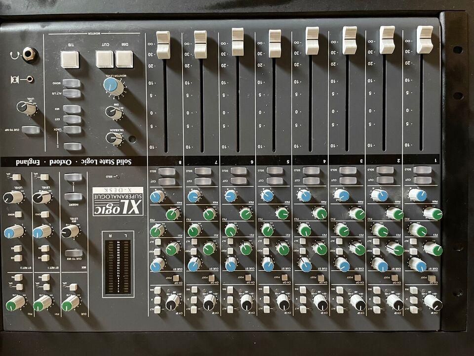 Summing mixer, SSL X-DESK