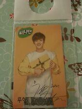 Exo luhan sunny10 present vee OFFICIAL Photocard Kpop K-pop