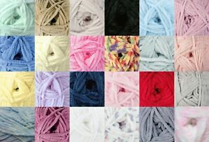 Details about Flutterby Chunky Yarn & Free Knitting Pattern James Brett  Wool 1 or 5 100g Balls