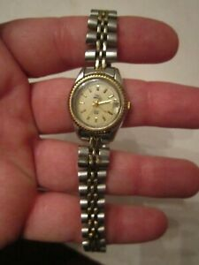 Vintage Timex Indiglo Watch Jubilee Band Fluted Bezel Not Working Bba15 Ebay