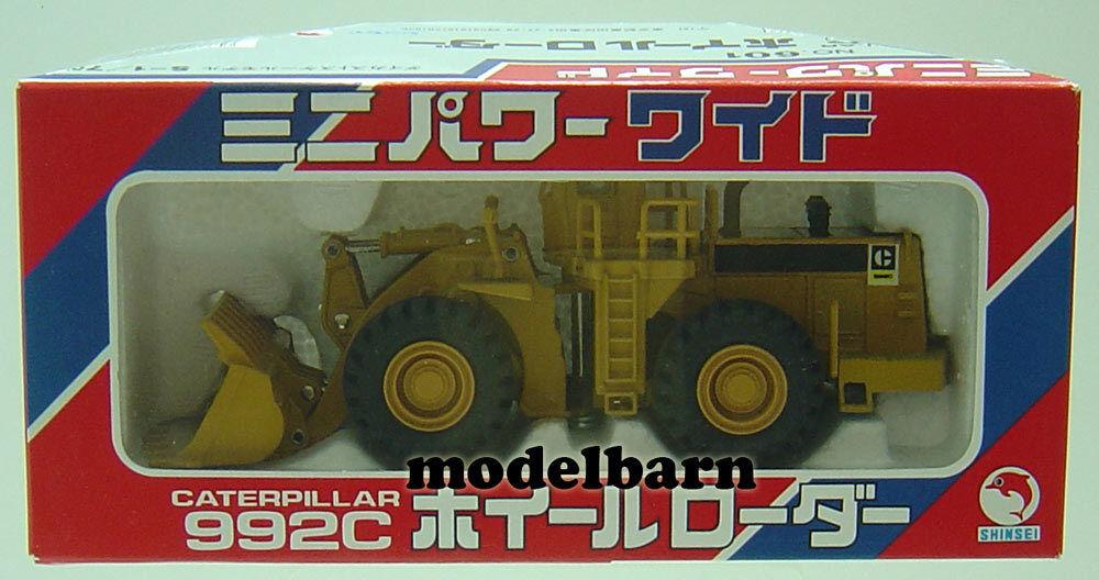1 75 Cat 992 C  Wheel Loader Shinsei Japon  À ne pas manquer!
