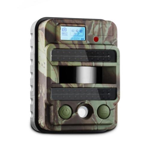Fototrappola Ultracompatta Schermo Lcd 8 Megapixel Hd Flash Infrarossi Microfono