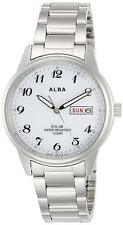 Alba Solar Quartz Men S Watch Aefd561 No Battery Replacement Made In