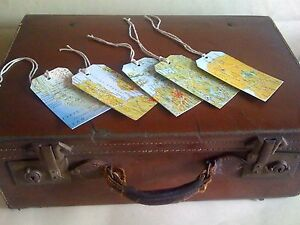 Map-themed-luggage-label-style-gift-tags-handmade-with-jute-ties-set-of-5