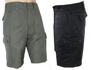 Combat Allemand Moleskine Travail Cargo Armée Pantalon Style Short E9IHWD2