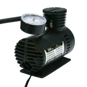 1x-12V-Tire-Inflator-Car-Air-Pump-Compressor-Electric-Portable-Up-DC-300Psi-F4A5