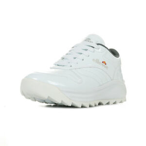 Blanc Woman Taille Baskets Femme Ellesse Blanche Chaussures Patent 6IyYvbfm7g