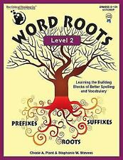 Word Roots: Word Roots Level 2 : The Building Blocks of Better Spelling and Vocabulary by Cherie A. Plant (2014, Paperback)