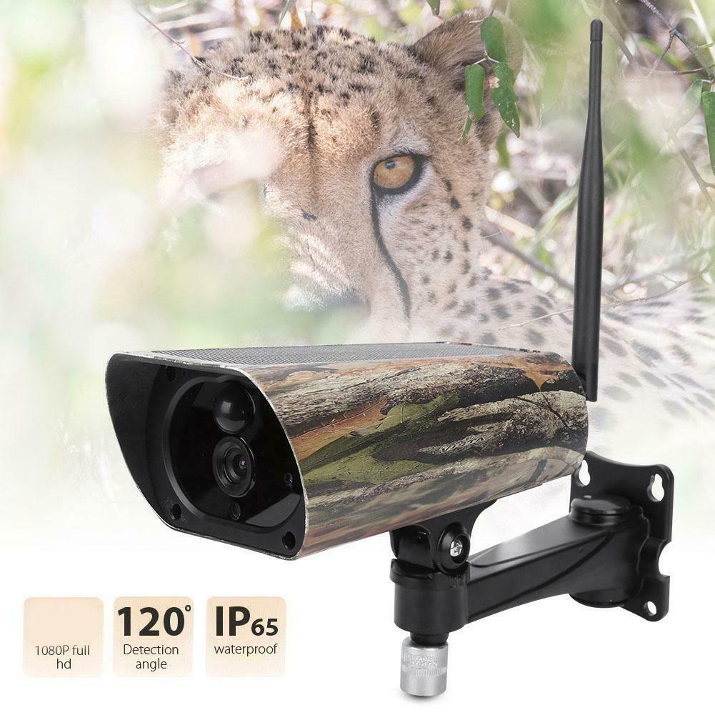 PR500W WiFi 1080P FHD IR Night Vision Hunting Trail Camera  with Solar Pannel HOT  selling well all over the world
