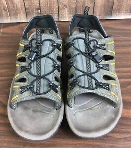 02a6c39bbe3 Hi-Tec Mens Size 12 V-Lite Cascade Gray Outdoor Hiking Sandals | eBay