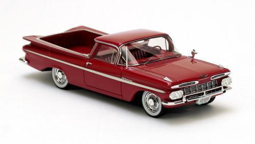 Chevrolet El Camino-rosso 1959 Neo 44850 1 43
