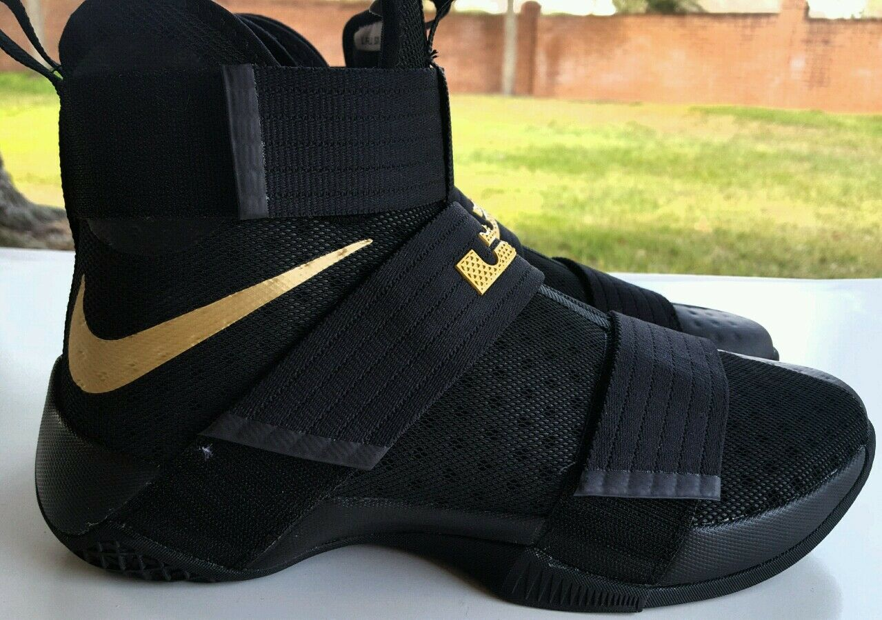 c7e63f076a230 ... shop new nike id lebron soldier 10 id nike championship limited edition  size 9.5 885682 991