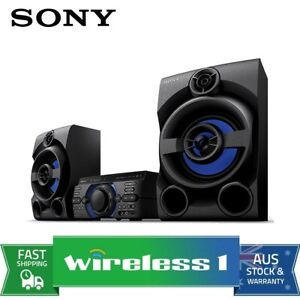 Sony MHC-M40D High Power Home HiFi Audio System with DVD