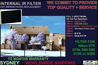 Nikon D7000 590nm Super Goldie Color Infrared Ir Filter Hot Mirror Replacement