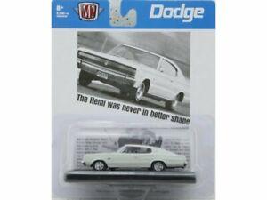 DODGE Charger HEMI - 1966 - white - M2 Machines 1:64
