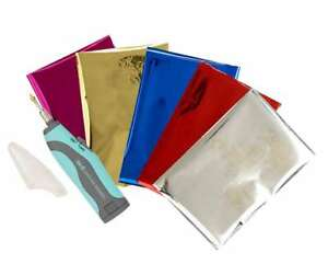American Crafts We R Memory Keepers Heatwave Pen Starter Kit 20 Sheets of Foil 4