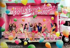 """GIRL'S GENERATION """"LOVE & GIRLS"""" THAILAND PROMO POSTER - Girl Group, K-Pop Music"""