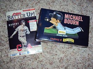 Michael-Bourn-Bourne-Cleveland-Indians-Bobblehead-Bobble-Head-SGA-6-3-2014-NIB