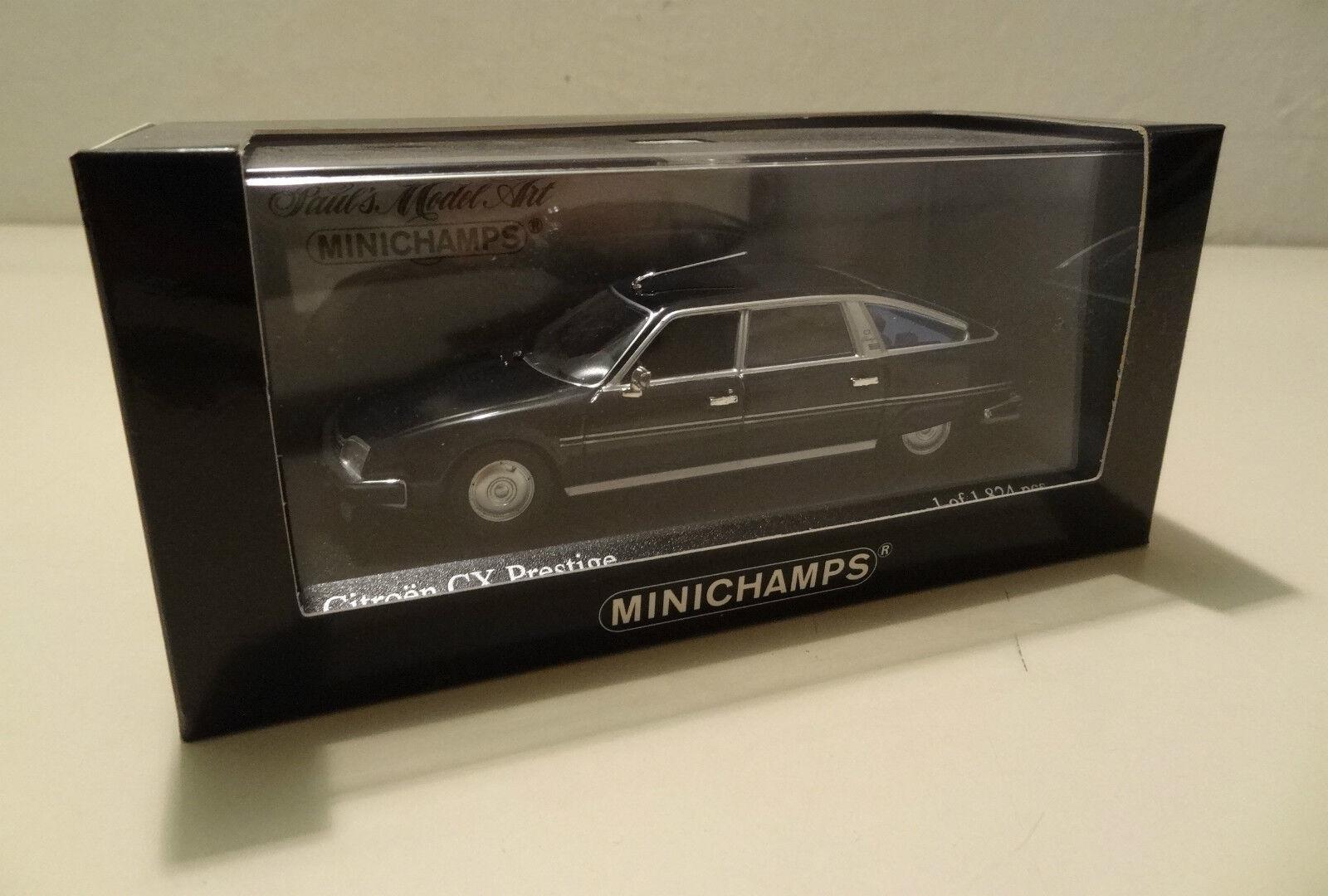 Citroen CX Prestige - 1979 dark bleu - Minichamps 1 43