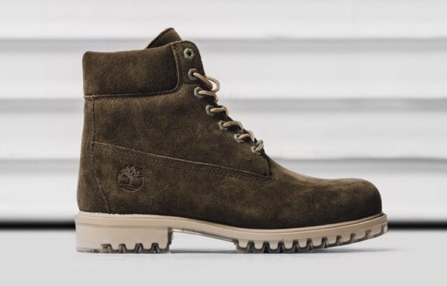 Timberland Boot 6 Inch Premium Dark Olive hammer nubuck Limited Release