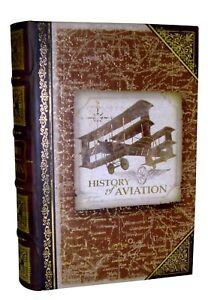 Punch-Studio-Gold-Foil-Keepsake-Book-Nesting-Box-History-of-Aviation-60636-Small