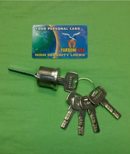Maxtech Deadbolt With High Security Cylinder With 5 Keys,solid brass.