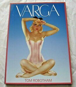 VARGA-by-Tom-Robotham-Hardcover-BRAND-NEW-amp-FREE-SHIPPING