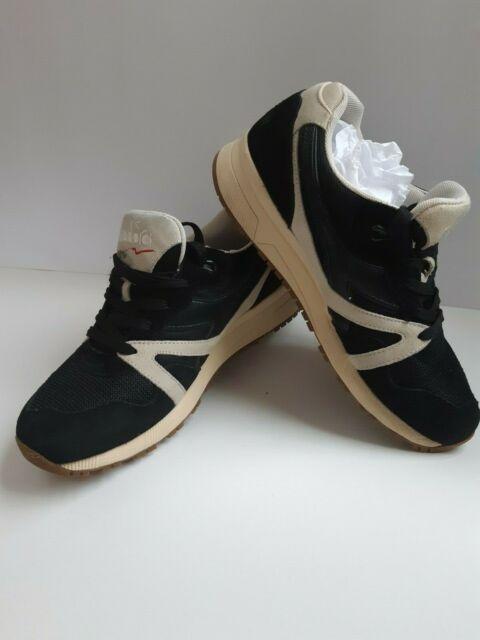 ADIDAS Diadora NN9000 Italia Men's Running Athletic Shoe Size 10 Black/Cream