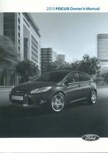 ford focus owners manual 2013