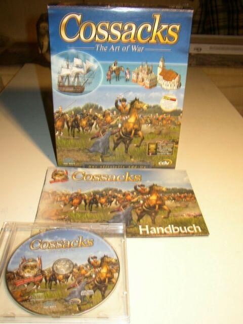 Cossacks - The Art of War in Original-Box von 2001 (für Sammler)