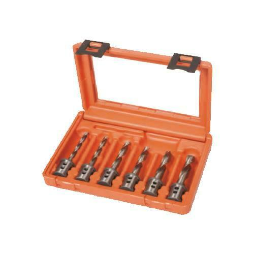 Twist Drill Set for Mag Drills Alfra TW SET 6-12mm