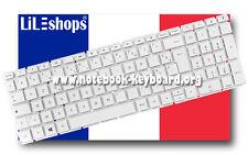 Clavier Français Original Blanc HP 15-ay012nf 15-ay013nf 15-ay017nf 15-ay018nf