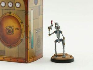 Figurine métal Nef des Fous (La) Robot - Cavalier Noir