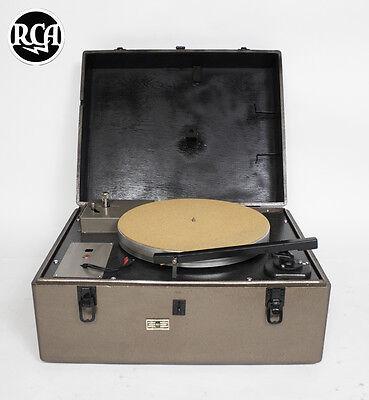 RCA MI-12800-B turntable 16 inch platter & tone arm  (Worldwide Shipping)