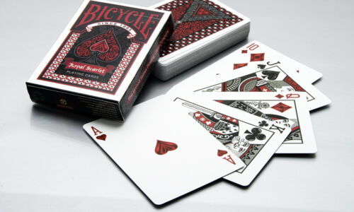 Royal Scarlet Deck Bicycle Playing Cards Poker Size USPCC Limited Edition Sealed