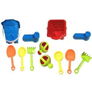 Kids-Beach-Sand-Bucket-Set-Toys-Toddler-Shovel-Play-Rake-Water-Castle-Tools