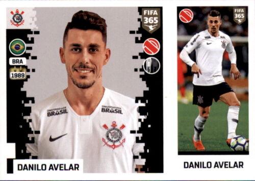 Danilo Avelar Corinthians Sticker 323 a//b Panini FIFA365 2019